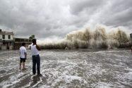 Powerful Typhoon Kills 20 In Southern China, Swipes Hong Kong