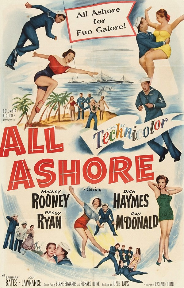 All Ashore (Columbia, 1952)
