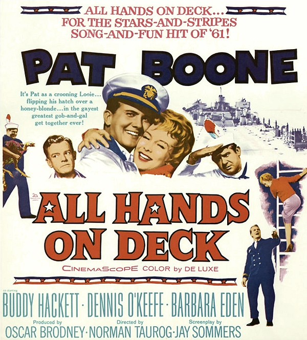 All Hands on Deck (20th Century Fox, 1961)