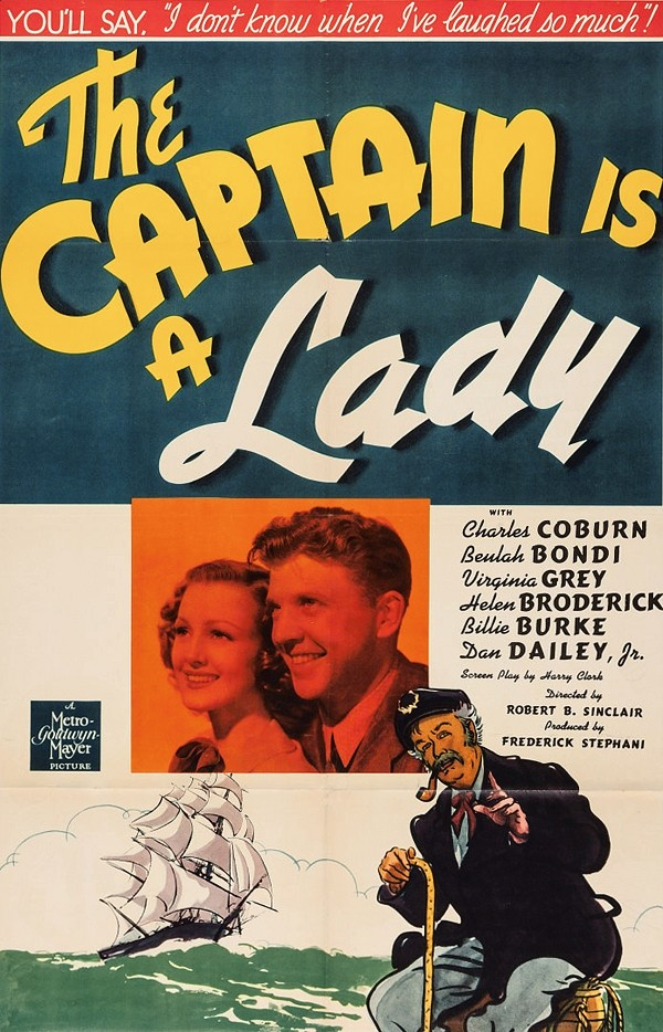 The Captain is a Lady (MGM, 1940)