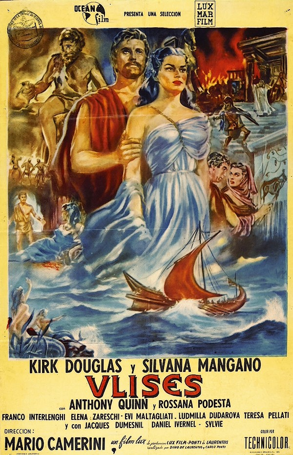 Ulysses (Ocean Film, 1955) Argentinean release poster