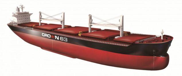 crown63 ultramax sinopacific shipbuilding