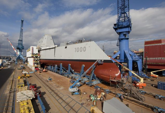 Image courtesy US Navy/General Dynamics Bath Iron Works/Michael C. Nutter