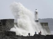 Severe Storm Batters Britain and Netherlands