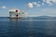Hospital Ship USNS Mercy Prepped for Philippines Disaster Relief