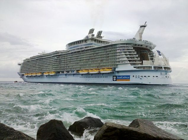 Allure of the Seas leaving Port Everglades. File Photo.
