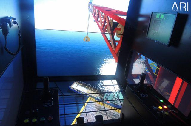 NOSI crane simulator