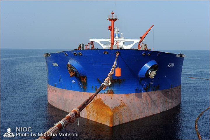 sourena floating storage unit iran tanker