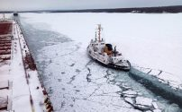 Great Lakes Shipping Snarled by Winter Weather in 2013