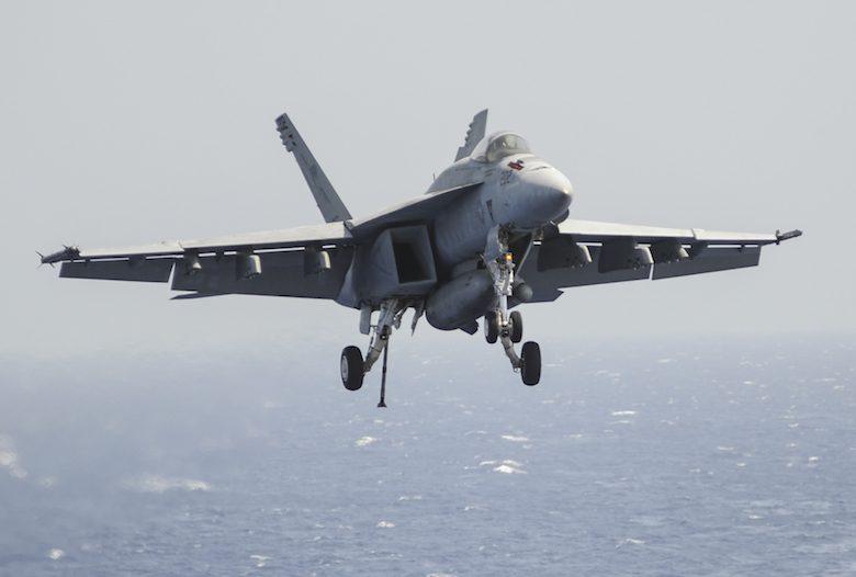 U.S. Navy F/A-18E Super Hornet file photo