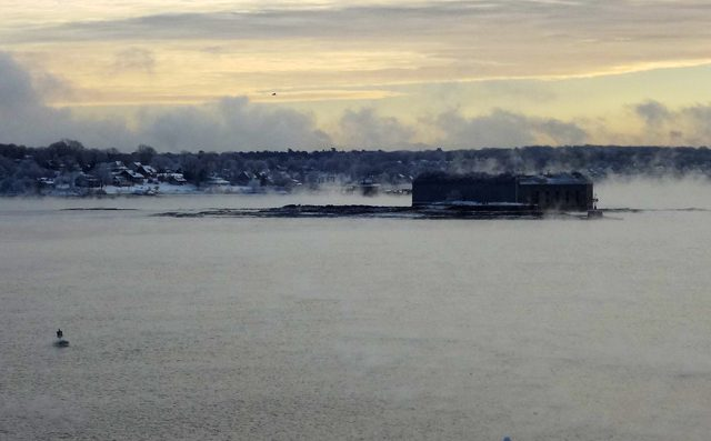 fort gorges casco bay jeff musk