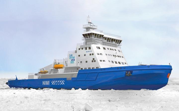 Icebreaker Finnish Transport Agency