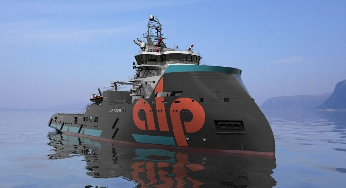 ulstein sx-157 anchor handling tug ahts