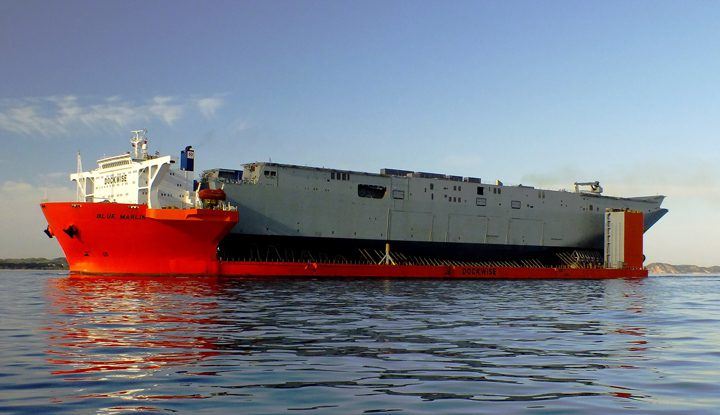 blue marlin adelaide lhds heavy lift bae systems