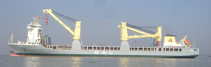 mv trina heavy lift ship sal