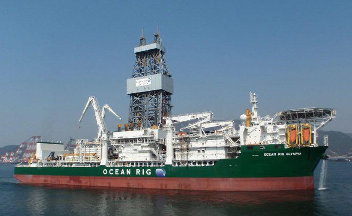Ocean rig olympia total drillship