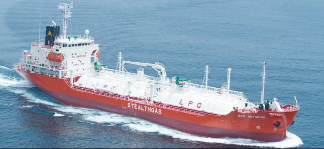 gas defiance lpg carrier stealthgas
