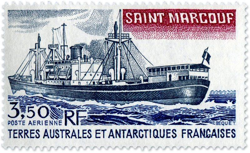 Supply ship Saint Marcouf