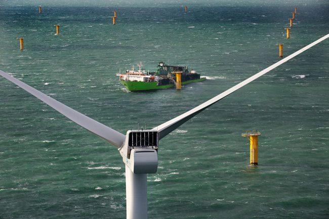deme windfarm scour protection