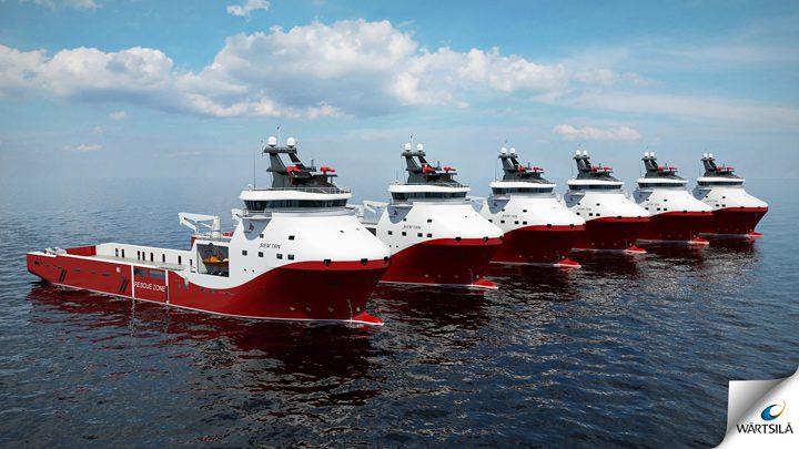 siem offshore wartsila psv platform supply vessel