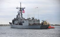 USS Taylor Heads for Repairs Following Grounding