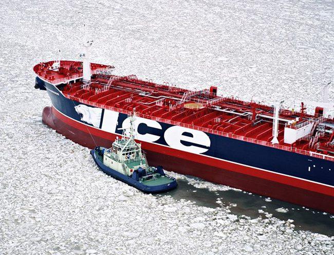 stena poseidon tanker ice