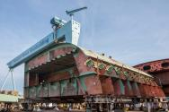 Prep Work Continues On Second Ford-class Supercarrier
