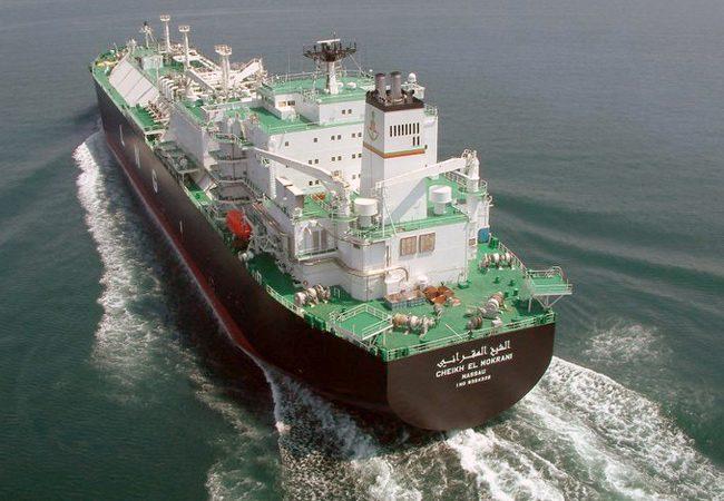LNG carrier Cheikh el Mokrani