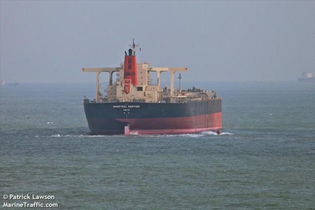 MV BAOSTEEL EMOTION. Photo (c) MarineTraffic.com/Patrick Lawson