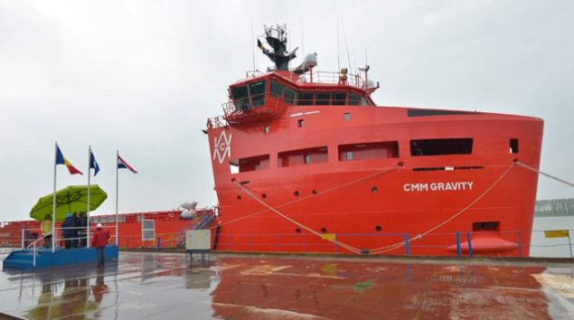 CMM Gravity platform supply vessel