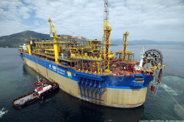 FPSO Cidade de Paraty sbm offshore