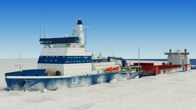 Project 22220 Russian Icebreaker