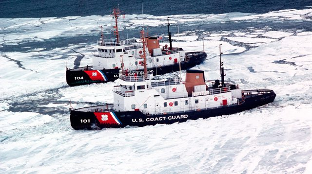 Coast Guard Cutter Katmai Bay (WTGB 101) Biscayne Bay (WTGB 104)