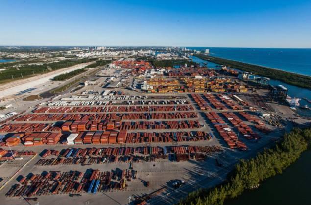 South Port at Port Everglades. Photo courtesy Port Everglades