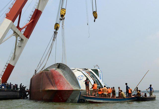 miraj 4 ferry capsize salvage