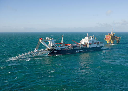 audacia allseas pipelay