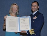 Carleen Lyden-Kluss Receives USCG Public Service Commendation Award