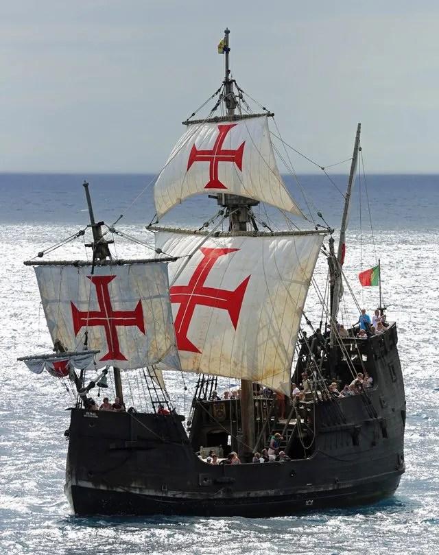 santa marina columbus ship