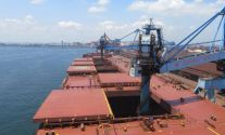 Vale Makes First VLOC Port Call at Kashima