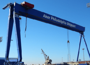 File photo courtesy Aker Philadelphia Shipyard