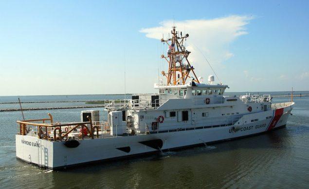 FRC 10, the RAYMOND EVANS. Photo courtesy Bollinger Shipyards