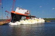 WATCH: HOS Black Watch Christening and Launch Ceremony
