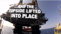 WATCH: Heerema's SSCV Thialf Installs Lucius Topsides