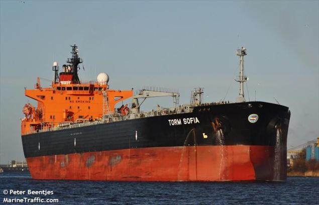 Torm Sofia file photo (c) MarineTraffic.com/Peter Beentjes