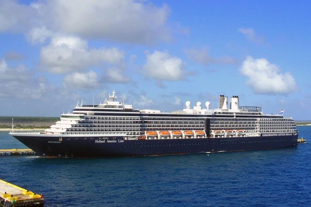 File photo of Holland America's MS Westerdam. Photo courtesy Holland America