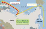 MOL Confirms Order for Icebreaking LNG Carriers to Ply Arctic Shipping Route