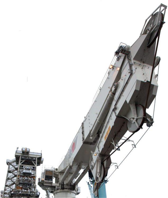 nov crane active heave compensated