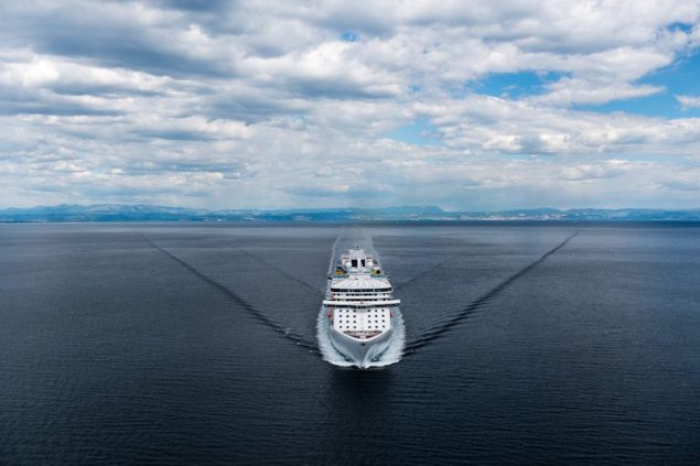 The so far unnamed 143,000-ton vessel will be built at an all-in cost of approximately 600 million euros. Photo courtesy Princess Cruises