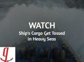 WATCH: Car Carrier's Cargo Gets Tossed in Heavy Seas