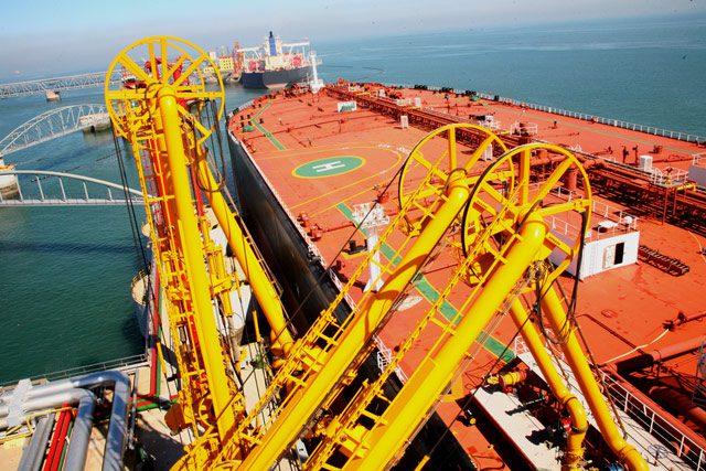 tanker crude terminal